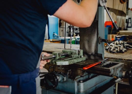 Fertigung von Ersatzteilen aus Metall-